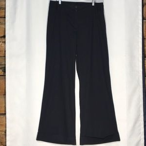 CAROLE LITTLE Black Light Weight Trousers